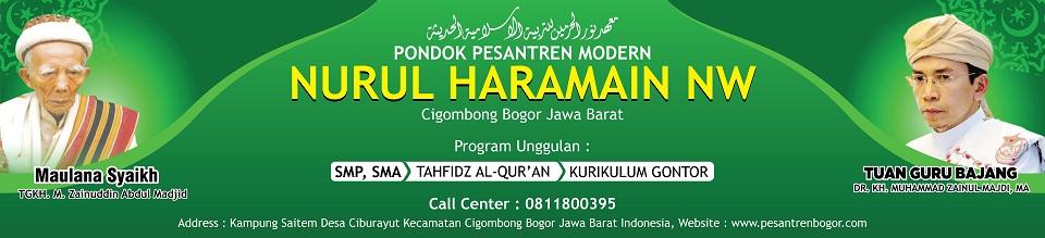 Pondok Pesantren Modern di Bogor – Nurul Haramain Nahdlatul Wathan !